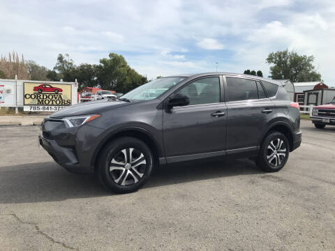 2018 Toyota RAV4 for sale at Cordova Motors in Lawrence KS