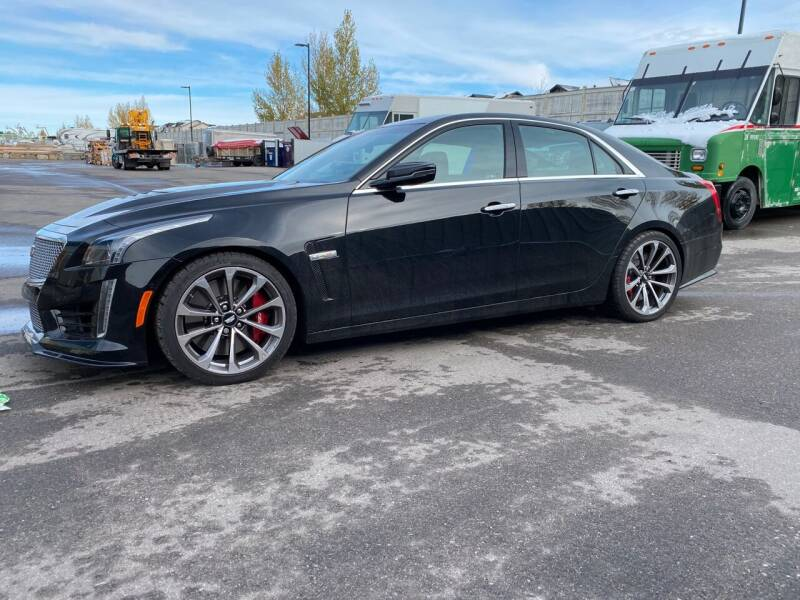 2016 Cadillac CTS-V for sale at Truck Buyers in Magrath AB