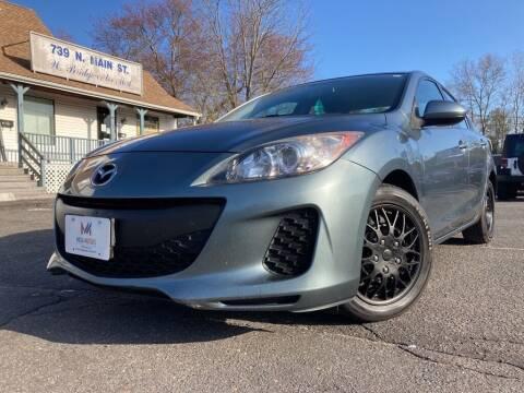 2013 Mazda MAZDA3 for sale at Mega Motors in West Bridgewater MA