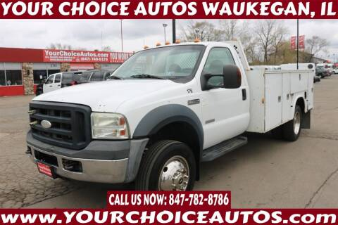 2006 Ford F-450 Super Duty for sale at Your Choice Autos - Waukegan in Waukegan IL