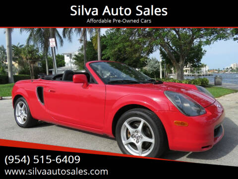 2000 Toyota MR2 Spyder for sale at Silva Auto Sales in Pompano Beach FL