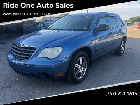 2007 Chrysler Pacifica for sale at Ride One Auto Sales in Norfolk VA