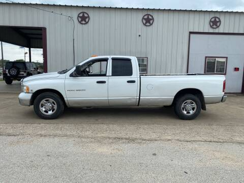 2003 Dodge Ram Pickup 3500 for sale at Circle T Motors INC in Gonzales TX