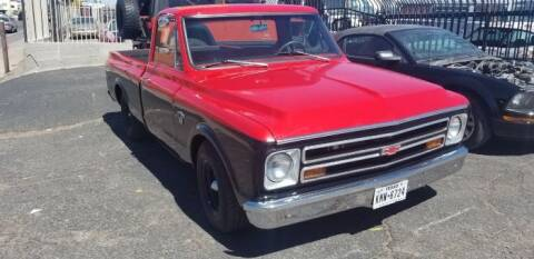 1968 Chevrolet C/K 10 Series for sale at Classic Car Deals in Cadillac MI