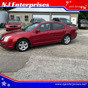 2008 Ford Fusion for sale at NJ Enterprises in Indianapolis IN