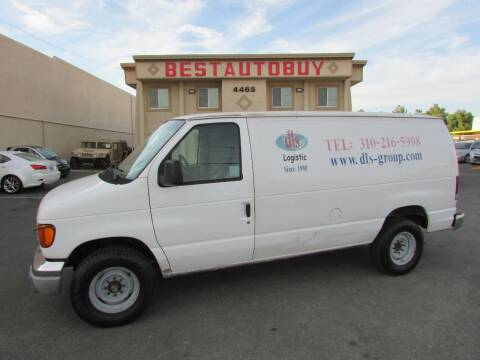 2006 Ford E-Series Cargo for sale at Best Auto Buy in Las Vegas NV