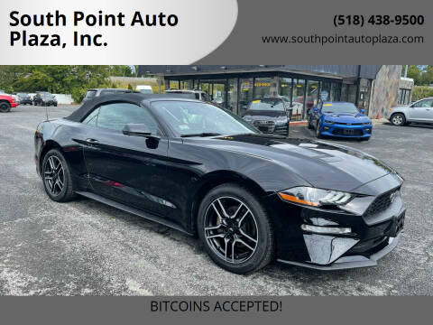 2018 Ford Mustang for sale at South Point Auto Plaza, Inc. in Albany NY
