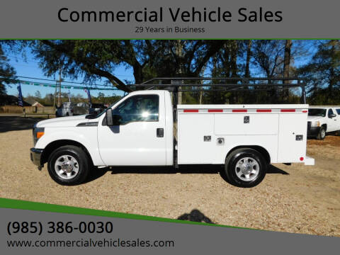 2016 Ford F-250 Super Duty for sale at Commercial Vehicle Sales in Ponchatoula LA