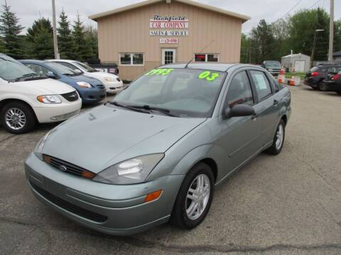 2003 Ford Focus for sale at Richfield Car Co in Hubertus WI