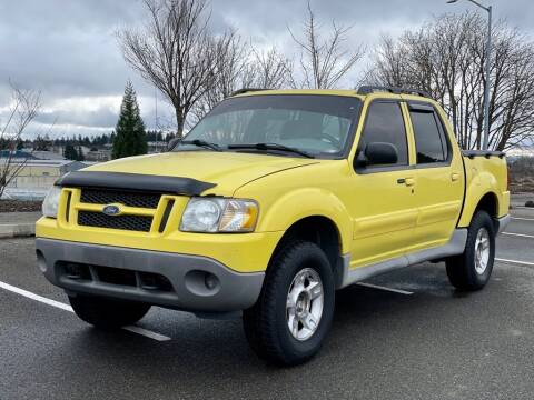 2003 Ford Explorer Sport Trac for sale at Q Motors in Tacoma WA