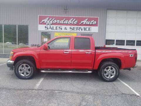 2010 Chevrolet Colorado for sale at Affordable Auto Sales & Service in Berkeley Springs WV