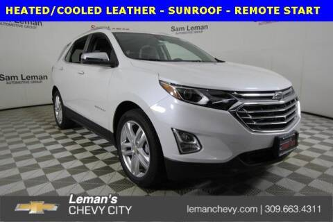 2021 Chevrolet Equinox for sale at Leman's Chevy City in Bloomington IL