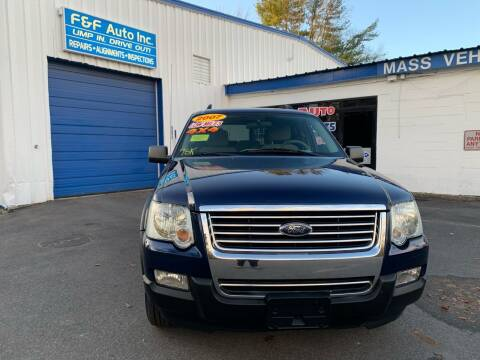 2007 Ford Explorer for sale at F&F Auto Inc. in West Bridgewater MA