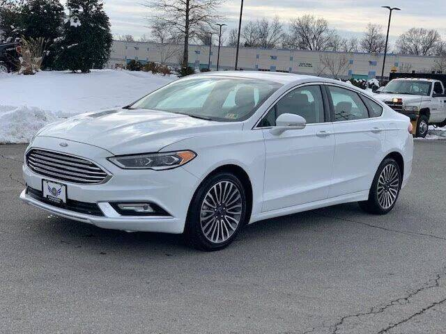 2018 Ford Fusion for sale at Freedom Auto Sales in Chantilly VA