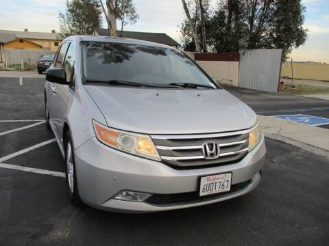 2012 Honda Odyssey for sale at F & A Car Sales Inc in Ontario CA