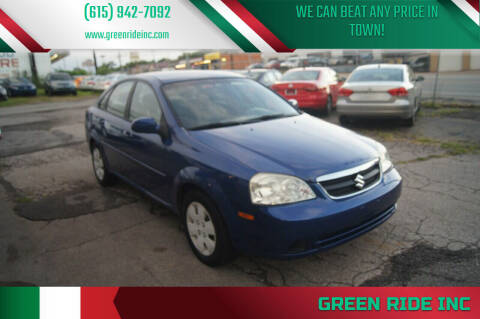 2007 Suzuki Forenza for sale at Green Ride Inc in Nashville TN