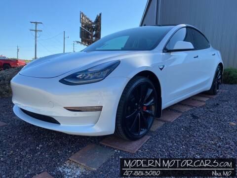 2019 Tesla Model 3 for sale at Modern Motorcars in Nixa MO