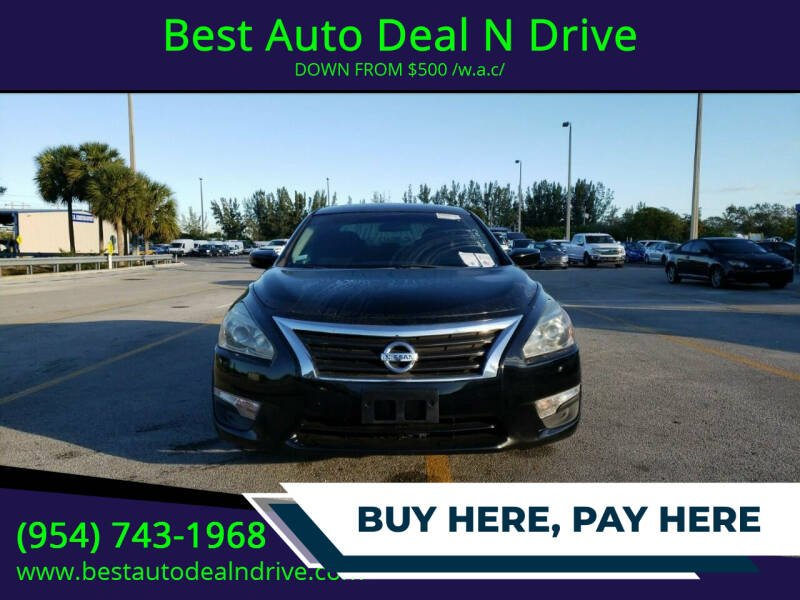 2013 Nissan Altima for sale at Best Auto Deal N Drive in Hollywood FL