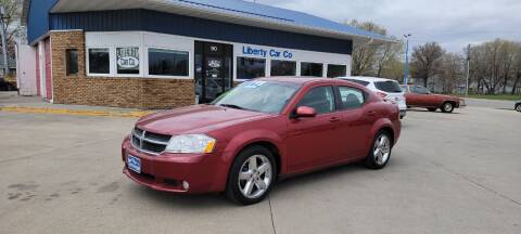 2010 Dodge Avenger for sale at Liberty Car Company in Waterloo IA