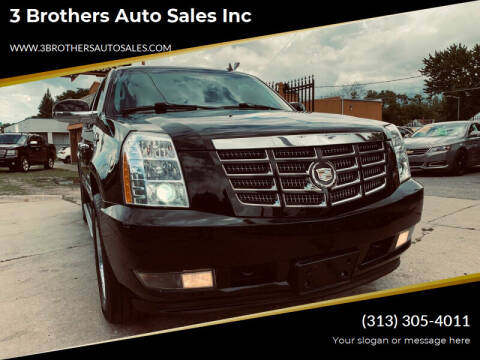 2011 Cadillac Escalade ESV for sale at 3 Brothers Auto Sales Inc in Detroit MI
