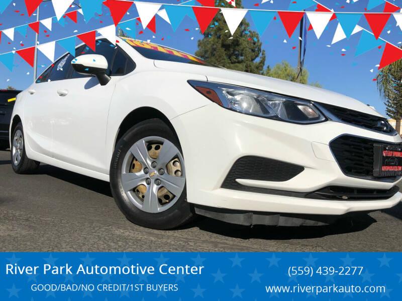 2018 Chevrolet Cruze for sale at River Park Automotive Center in Fresno CA