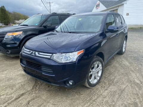 2014 Mitsubishi Outlander for sale at Wright's Auto Sales LLC in Townshend VT