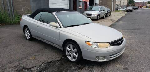 2001 Toyota Camry Solara for sale at O A Auto Sale in Paterson NJ