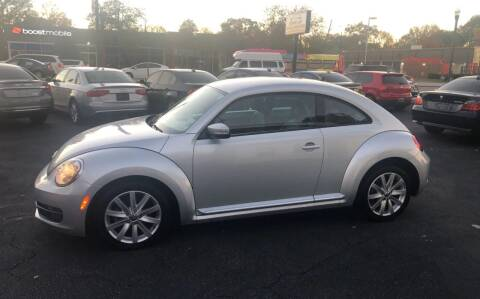 2013 Volkswagen Beetle for sale at BWK of Columbia in Columbia SC