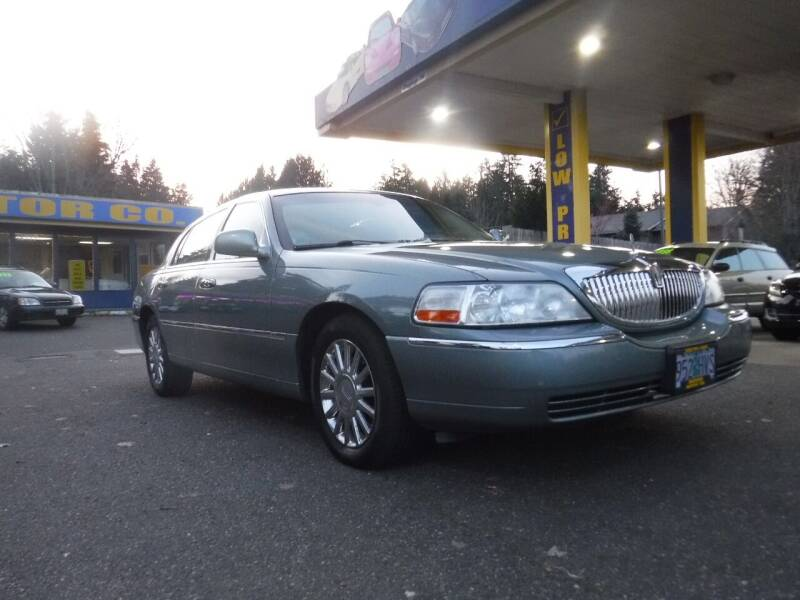 2005 Lincoln Town Car for sale at Brooks Motor Company, Inc in Milwaukie OR