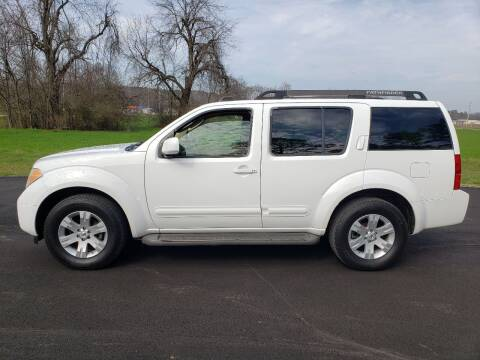 2006 Nissan Pathfinder for sale at Tennessee Valley Wholesale Autos LLC in Huntsville AL