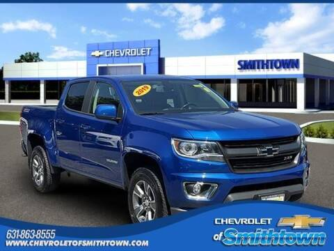 2019 Chevrolet Colorado for sale at CHEVROLET OF SMITHTOWN in Saint James NY