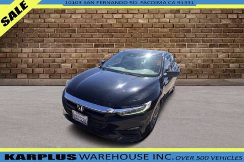 2019 Honda Insight for sale at Karplus Warehouse in Pacoima CA