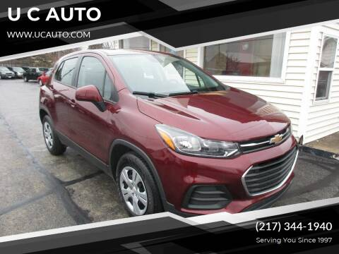 2017 Chevrolet Trax for sale at U C AUTO in Urbana IL