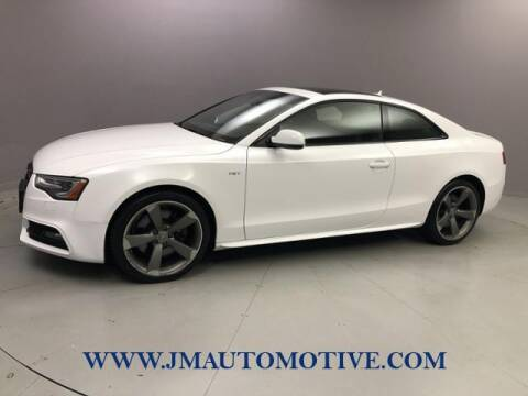 2014 Audi S5 for sale at J & M Automotive in Naugatuck CT