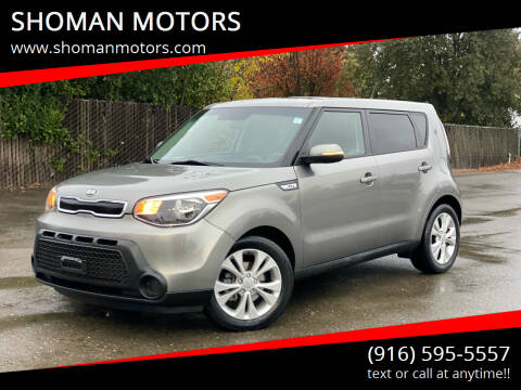 2014 Kia Soul for sale at SHOMAN MOTORS in Davis CA