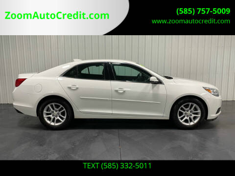 2015 Chevrolet Malibu for sale at ZoomAutoCredit.com in Elba NY