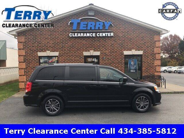 2017 Dodge Grand Caravan for sale at Terry Clearance Center in Lynchburg VA