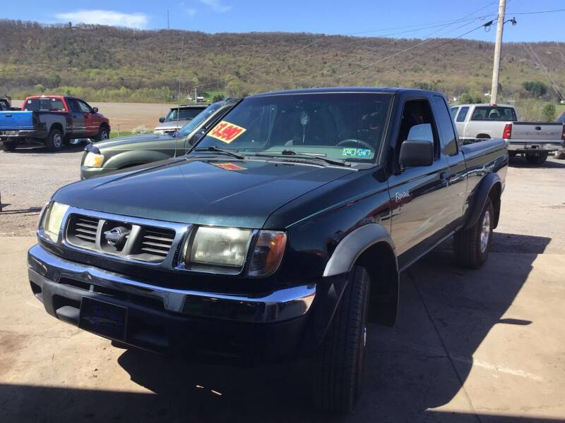 1999 Nissan Frontier for sale at Troys Auto Sales in Dornsife PA