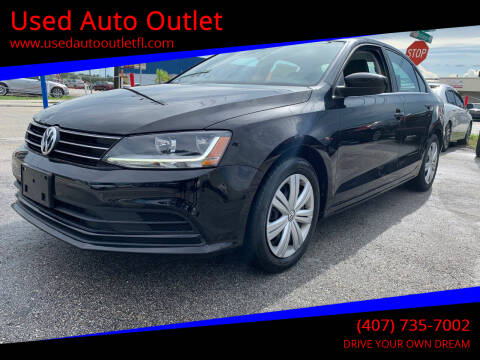 2017 Volkswagen Jetta for sale at Used Auto Outlet in Orlando FL