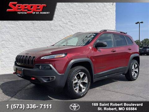 2017 Jeep Cherokee for sale at SEEGER TOYOTA OF ST ROBERT in Saint Robert MO