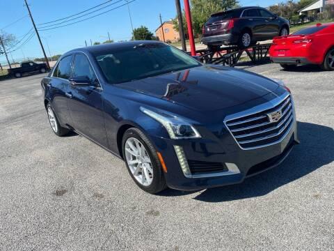 2018 Cadillac CTS for sale at LLANOS AUTO SALES LLC - LEDBETTER in Dallas TX