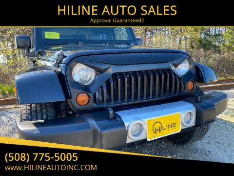 2008 Jeep Wrangler for sale at HILINE AUTO SALES in Hyannis MA