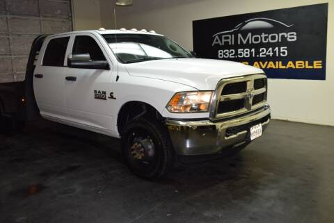 2018 RAM Ram Chassis 3500 for sale at ARI Motors in Houston TX