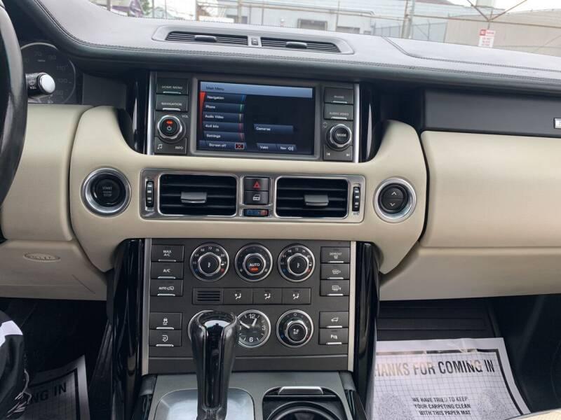 2012 Land Rover Range Rover 4x4 HSE LUX 4dr SUV - Paterson NJ