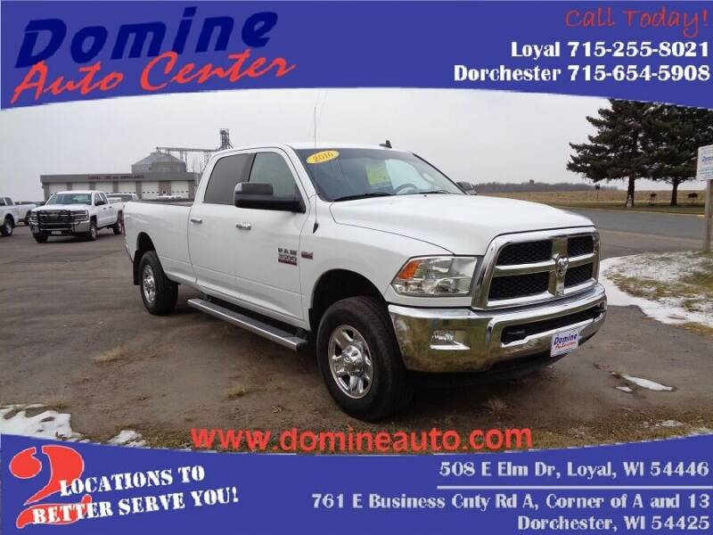2016 RAM Ram Pickup 3500 for sale at Domine Auto Center - commercial vehicles in Loyal WI