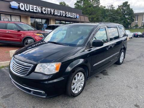 2013 Chrysler Town and Country for sale at Queen City Auto Sales in Charlotte NC