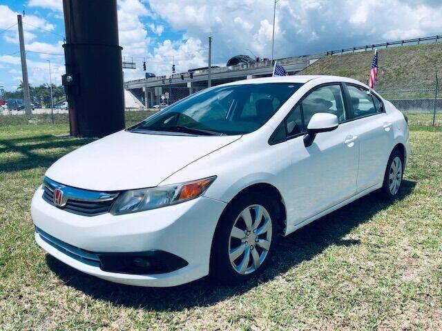 2012 Honda Civic for sale at Venmotors LLC in Hollywood FL
