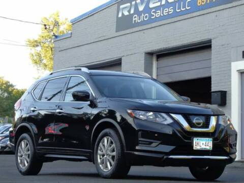 2017 Nissan Rogue for sale at Rivera Auto Sales LLC in Saint Paul MN