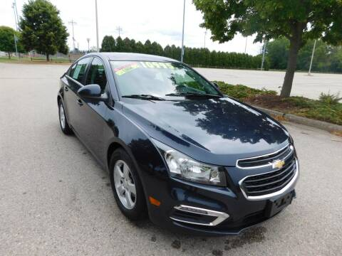 2015 Chevrolet Cruze for sale at Lot 31 Auto Sales in Kenosha WI
