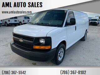 2012 Chevrolet Express Cargo for sale at AML AUTO SALES - Cargo Vans in Opa-Locka FL